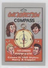 2017 Topps Wacky Packages 50th Anniversary #8 One Direction Compass Card 0c4