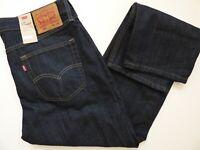 Men's Levi's 514 Straight Fit Jeans Tumbled Rigid -  005144010 - MSRP $59