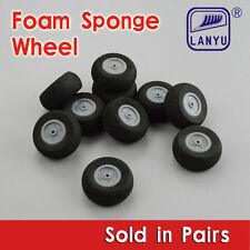 2pcs Model Plane Foam Sponge Wheels 95mm RC Model Wheels
