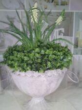 Floreros decorativos blanco sin marca de metal para el hogar