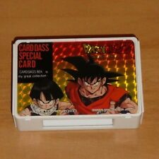 DRAGON BALL Z DBZ CARDDASS BOX SPECIAL CARD CARTE ULTRA RARE MADE IN JAPAN 1991