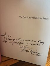 Autographed The Precious Moments Story Collector's Edition 1st Edition Hardcover