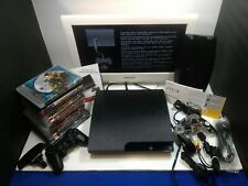 Sony PlayStation 3 PS3 Console 320gb Bundle In Excellent Condition 15 Games