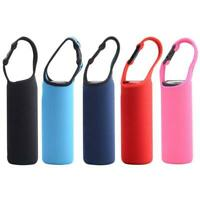 Water Bottle Carrier Insulated Cover Bag Holder Drink Strap Sport Case 1PC