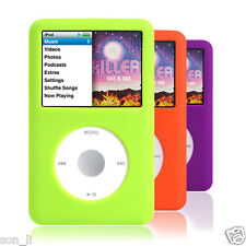 3x Silicone Skin Cover Case for iPod Classic 7th Gen 160GB 6th 80GB 120GB THIN A