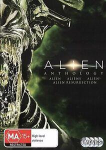 Alien Anthology (4-Movie Collection) Dvd 4-Disc Set - Brand New & Sealed