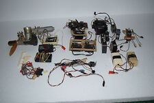 Lot of Radio Controlled Parts - K&B 40 Airplane Engine, 3 Receivers, 17 Servos