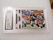 Tom Brady GRADED CARD!! Gem Mint 10!! 2010 Panini Threads #87 Patriots MVP! x-1