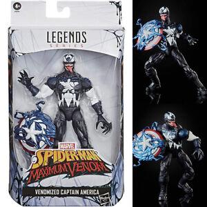 Marvel Legends Venomized Captain America (Spider-Man Maximum Venom) Hasbro