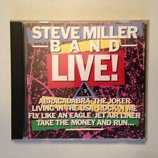 CD STEVE MILLER BAND LIVE