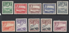 Antigua 1928 part set to 2/6 with both 1/- MH