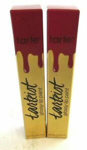 Lot of 2 Tarte Tarteist Glossy Lip Paint - WCW (Fuscia) Bundle Listing Lip Liner