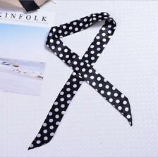 Silk like Twilly Scarf Twill Handbag Handle Wrap Purse Scarves Hair Bow Ribbon