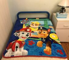 "Paw Patrol All season Mink Faux Fur ""Throw"" blanket Size110x 140cm"
