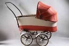 schöner alter Puppenwagen Kinderwagen DDR Top Deko Spielzeug rot