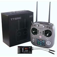 TTSRC X9 Remote Control 2.4G 9CH Transmitter Receiver R9D Radio System TX+RX