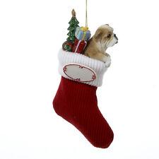 Bulldog Stocking Ornament