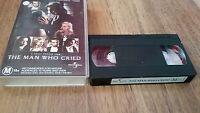 THE MAN WHO CRIED - CHRISTINA RICCI, JOHNNY DEPP  -  VHS VIDEO TAPE