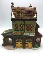 Christmas Dept 56 Dickens Village Hather Harness Ceramic Light Works