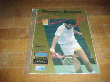 1989 Benson & Hedges Open Tennis Program Auckland