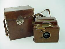Houghton Ensign Roll Film Reflex Tropical Model 1920s Box Folding Camera - Rare