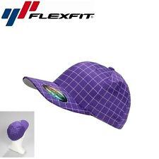 Flexfit Squareline Baseball Cap L/XL Violett Weiß