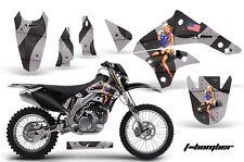 Kawasaki Graphic Kit AMR Racing Bike Decal KLX 450 Decal MX Parts 08-13 T-BOMBER