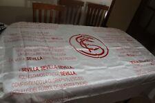 BANDERA DE FUTBOL DEL SEVILLA F.C. CON LA LETRA DE SU HIMNO ES MUY COTIZADA FLAG
