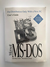 Microsoft MS-DOS Operating System NEW and SEALED!