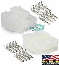 Molex -1 Complete Set - (8 Circuit) w/18-24 AWG, Wire Connector - Mini-Fit Jr ™