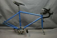 1978 Schwinn Traveler Vintage Touring Bike Frame Set 50cm Small Steel US Charity