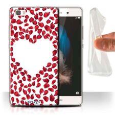 Housses et coques anti-chocs rouge Pour Huawei P8 pour téléphone mobile et assistant personnel (PDA)