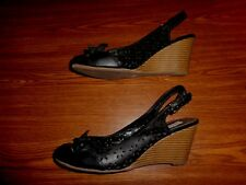 American Eagle Outfitters WEDGE SANDALS WOMEN'S SIZE 8 1/2 (3 INCH HEEL)