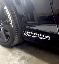 Chevy Camaro LS LT RS SS Zl1 Z28 Racing Side Skirt Fender Vinyl Decal Sticker