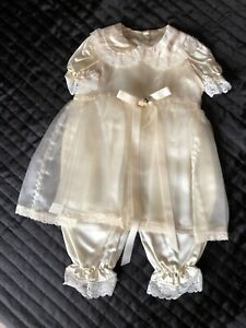 Traditional baby christening/special occasion wear dress/romper