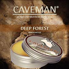 CAVEMAN® Natural Beard & Handlebar Mustache Wax Deep Forest Beard Moustache Wax