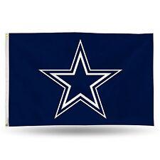 "Dallas Cowboys NFL Banner Flag 3' x 5' (36"" x 60"") ~ NEW"