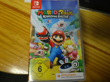 Nintendo switch mario + Rabbids Kingdom Battle nuevo sin lámina