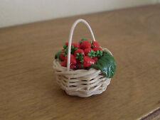 Miniatura cibo ~ FRAGOLE IN CESTO ~