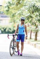 Triathlon Top and Short Cycling Swim Run Womens Small