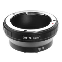 Mount Lens Adapter Ring For Olympus OM Lens to Nikon 1 VS1 S2 AW1 V1 V2 Camera
