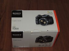 NEW in Open Box - Sony Cyber-Shot DSC-H300 20.1 MP Camera - BLACK - 027242873810