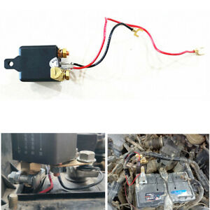 Car Battery Disconnect Cut Off Integrated Isolator Master Switch+Remote Control
