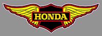 """Honda Wings Logo Premium Vinyl Decal Sticker 9"""" - Racing Motorcycle Bike Vintage"""