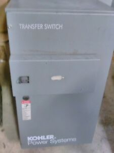 Kohler KCS DMVC 0070S 70 AMP 480 VOLT 3 PHASE 4 WIRE AUTOMATIC TRANSFER SWITCH
