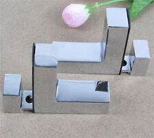 Shelves Support Brackets Clamp, For Glass Wooden & Acrylic Shelves Hold 2-20 mm