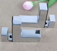 Shelves Support Brackets Clamp, For Glass Wooden & Acrylic Shelves Hold F Shape
