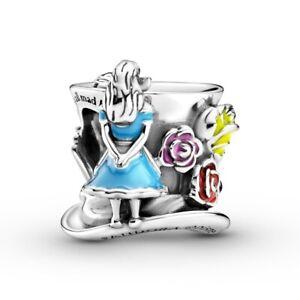 Alice in Wonderland Mad Hatter Pandora Charm
