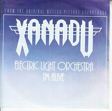 "ELECTRIC LIGHT ORCHESTRA I'm Alive E.L.O. XANADU PICTURE SLEEVE 7"" 45 record NEW"