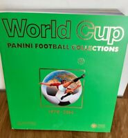 World Cup Panini Football Collections 1970-2014 Etat comme neuf inclus 12 albums
